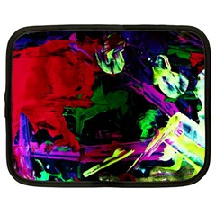 Spooky Attick 4 Netbook Case (large)