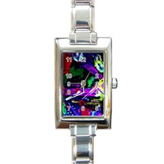 Spooky Attick 5 Rectangle Italian Charm Watch
