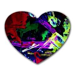 Spooky Attick 5 Heart Mousepads