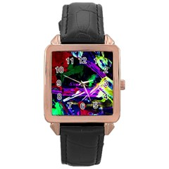 Spooky Attick 5 Rose Gold Leather Watch