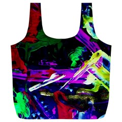 Spooky Attick 5 Full Print Recycle Bags (l)  by bestdesignintheworld