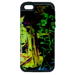 Spooky Attick 6 Apple Iphone 5 Hardshell Case (pc+silicone)