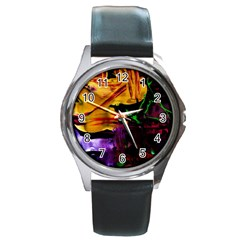 Spooky Attick 7 Round Metal Watch
