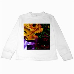 Spooky Attick 7 Kids Long Sleeve T Shirts