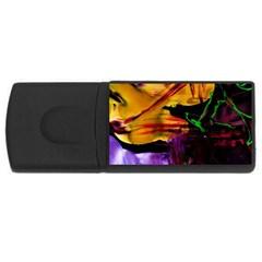 Spooky Attick 7 Rectangular Usb Flash Drive