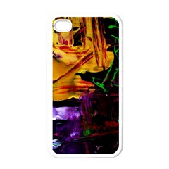 Spooky Attick 7 Apple Iphone 4 Case (white)