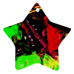 Spooky Attick 8 Star Ornament (two Sides)