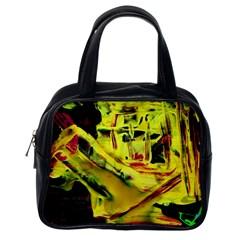 Spooky Attick 9 Classic Handbags (one Side)
