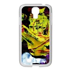 Spooky Attick 9 Samsung Galaxy S4 I9500/ I9505 Case (white) by bestdesignintheworld