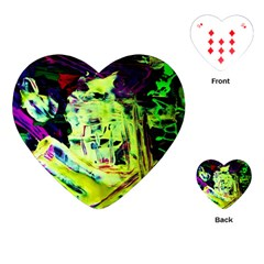 Spooky Attick 10 Playing Cards (heart)  by bestdesignintheworld