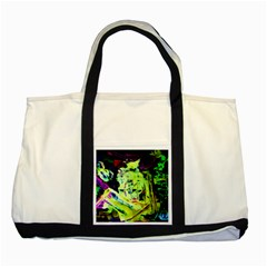 Spooky Attick 10 Two Tone Tote Bag by bestdesignintheworld