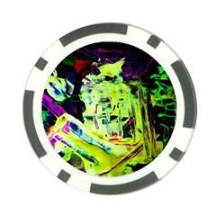 Spooky Attick 10 Poker Chip Card Guard