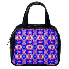 Artwork By Patrick Colorful 33 Classic Handbags (one Side)