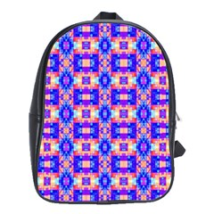Artwork By Patrick Colorful 33 School Bag (large)