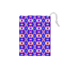 Artwork By Patrick Colorful 33 Drawstring Pouches (small)