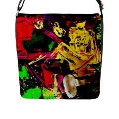 Spooky Attick 11 Flap Messenger Bag (l)