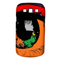 Eyes Makeup Human Drawing Color Samsung Galaxy S Iii Classic Hardshell Case (pc+silicone)
