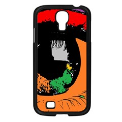 Eyes Makeup Human Drawing Color Samsung Galaxy S4 I9500/ I9505 Case (black)
