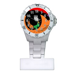 Eyes Makeup Human Drawing Color Plastic Nurses Watch