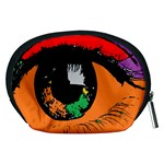 Eyes Makeup Human Drawing Color Accessory Pouches (Medium)  Back