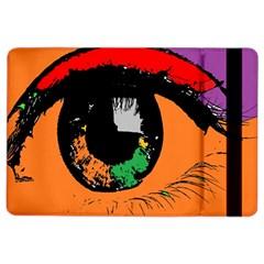 Eyes Makeup Human Drawing Color Ipad Air 2 Flip