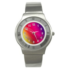 Background Wallpaper Design Texture Stainless Steel Watch