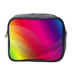 Background Wallpaper Design Texture Mini Toiletries Bag 2 Side
