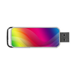 Background Wallpaper Design Texture Portable Usb Flash (one Side)
