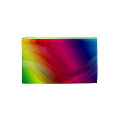 Background Wallpaper Design Texture Cosmetic Bag (xs)