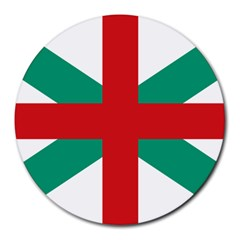 Naval Jack Of Bulgaria Round Mousepads by abbeyz71