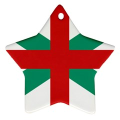 Naval Jack Of Bulgaria Ornament (star)