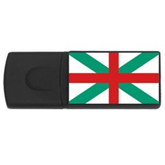 Naval Jack Of Bulgaria Rectangular Usb Flash Drive