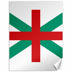 Naval Jack Of Bulgaria Canvas 12  X 16