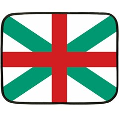 Naval Jack Of Bulgaria Fleece Blanket (mini)