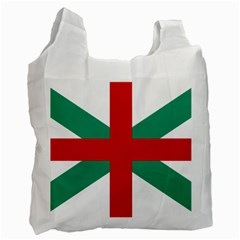 Naval Jack Of Bulgaria Recycle Bag (two Side)