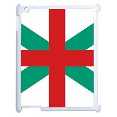 Naval Jack Of Bulgaria Apple Ipad 2 Case (white)