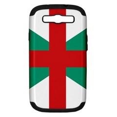 Naval Jack Of Bulgaria Samsung Galaxy S Iii Hardshell Case (pc+silicone)