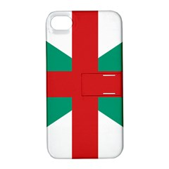 Naval Jack Of Bulgaria Apple Iphone 4/4s Hardshell Case With Stand
