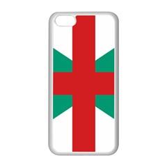 Naval Jack Of Bulgaria Apple Iphone 5c Seamless Case (white)