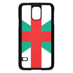 Naval Jack Of Bulgaria Samsung Galaxy S5 Case (black)