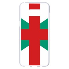 Naval Jack Of Bulgaria Samsung Galaxy S8 Plus White Seamless Case