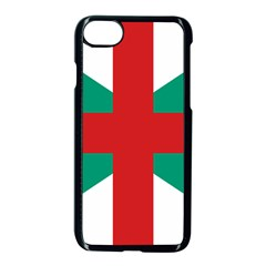 Naval Jack Of Bulgaria Apple Iphone 8 Seamless Case (black)