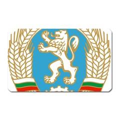 Coat Of Arms Of People s Republic Of Bulgaria, 1971 1990 Magnet (rectangular)