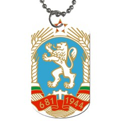 Coat Of Arms Of People s Republic Of Bulgaria, 1971 1990 Dog Tag (two Sides)