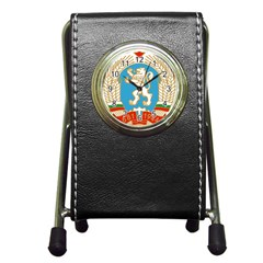 Coat Of Arms Of People s Republic Of Bulgaria, 1971 1990 Pen Holder Desk Clocks