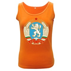 Coat Of Arms Of People s Republic Of Bulgaria, 1971 1990 Women s Dark Tank Top