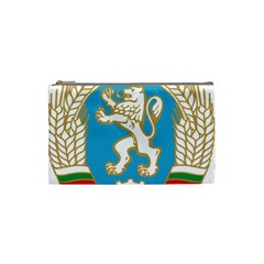 Coat Of Arms Of People s Republic Of Bulgaria, 1971 1990 Cosmetic Bag (small)