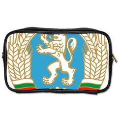 Coat Of Arms Of People s Republic Of Bulgaria, 1971 1990 Toiletries Bags 2 Side