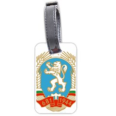 Coat Of Arms Of People s Republic Of Bulgaria, 1971 1990 Luggage Tags (two Sides)