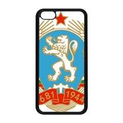 Coat Of Arms Of People s Republic Of Bulgaria, 1971 1990 Apple Iphone 5c Seamless Case (black) by abbeyz71